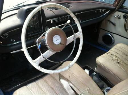 1965 Mercedes 190 interior