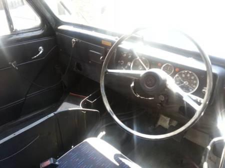 1966 Austin FX4D taxi for sale interior