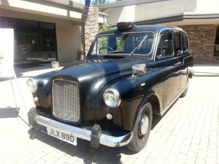 1966 Austin FX4D taxi left front for sale