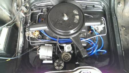 1966 Chevrolet Corvair engine