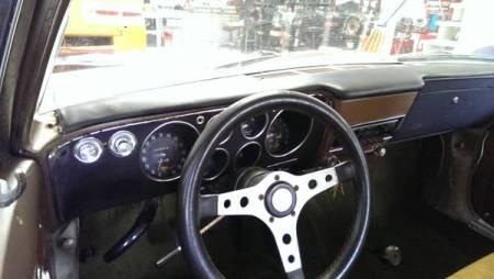 1966 Chevrolet Corvair interior