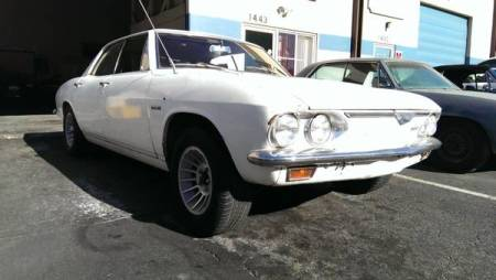 1966 Chevrolet Corvair right front
