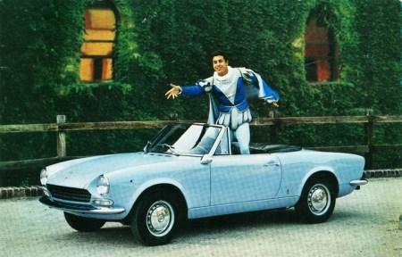 1967 Fiat Spider advertisement