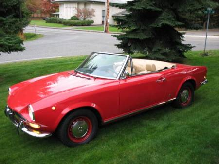 1967 Fiat spider left front for sale