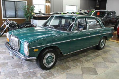 1969 Mercedes 220D left front