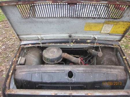 1969 Renault 10 for sale engine