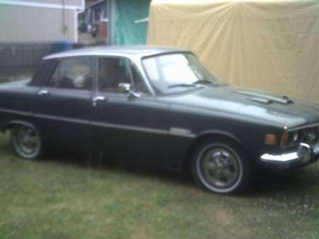 1970 Rover 3500 left