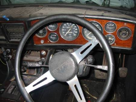 1972 Triumph Stag for sale interior