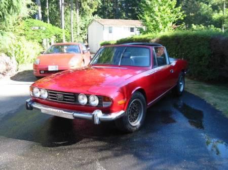 1972 Triumph Stag for sale left front