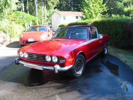 1972 Triumph Stag for sale left front