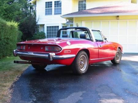 1972 Triumph Stag for sale right rear