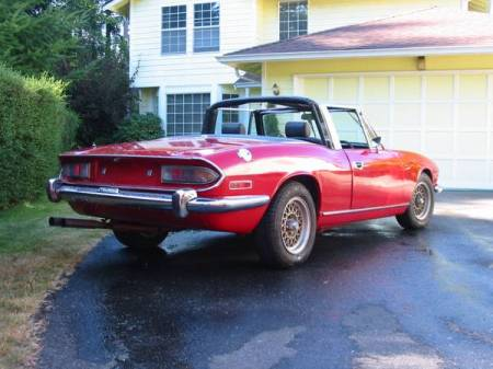 1972 Triumph Stag for sale right rear