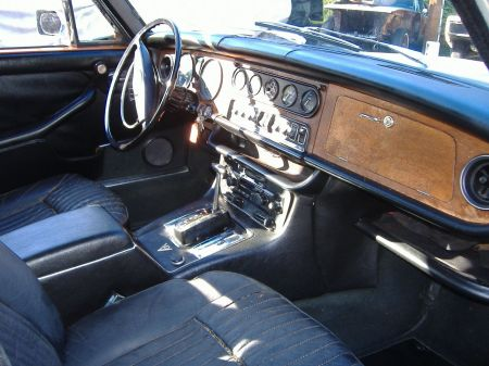 1973 Jaguar XJ12 for sale interior