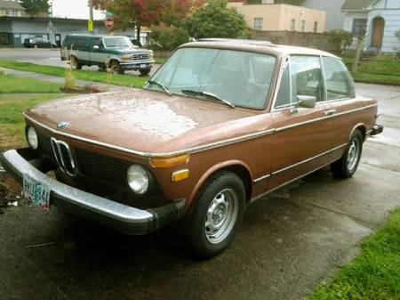 1974 BMW 2002 left front
