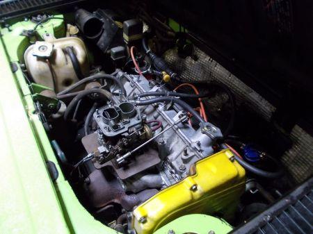 1974 Fiat X1-9 engine
