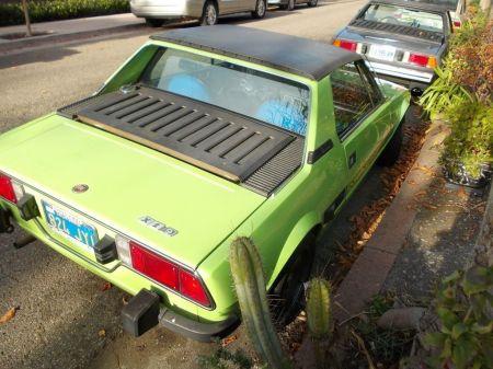 1974 Fiat X1-9 right rear