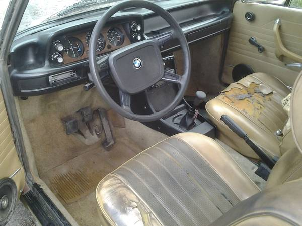 not a diesel 1976 bmw 2002 rusty but trusty. Black Bedroom Furniture Sets. Home Design Ideas