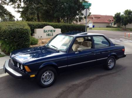 1979 BMW 320i for sale left front