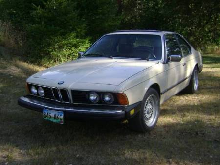 1980 BMW 633 CSi for sale left front