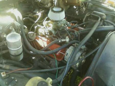 1980 Chevrolet Caprice for sale engine