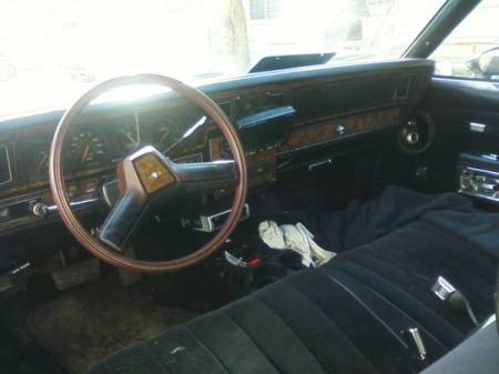 1980 Chevrolet Caprice for sale interior