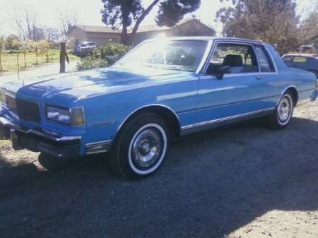 1980 Chevrolet Caprice for sale left front