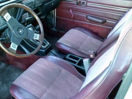 1981 Isuzu I Mark Diesel Coupe interior