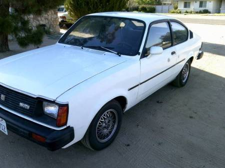 1981 Isuzu I Mark Diesel Coupe left front