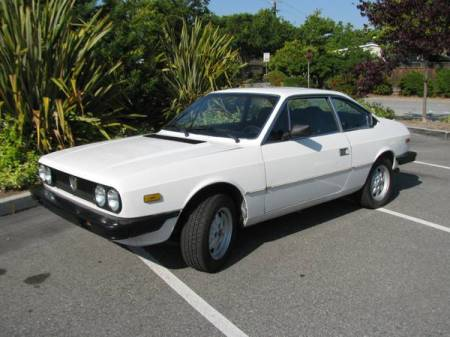 1981 Lancia Beta Coupe left front for sale