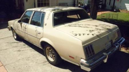 1981 Oldsmobile Cutlass Classic Diesel left rear