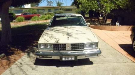 1981 Oldsmobile Cutlass Classic Diesel rear