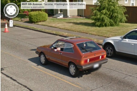 1981 VW Scirocco in Tacoma