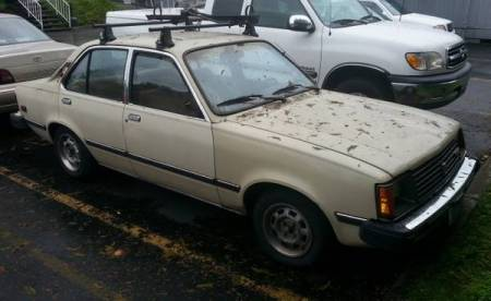 1982 Isuzu I Mark Diesel right front