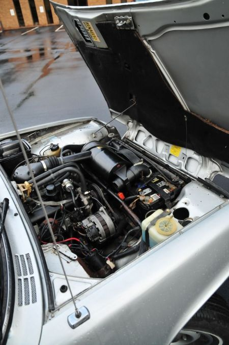 1982 Renault LeCar engine