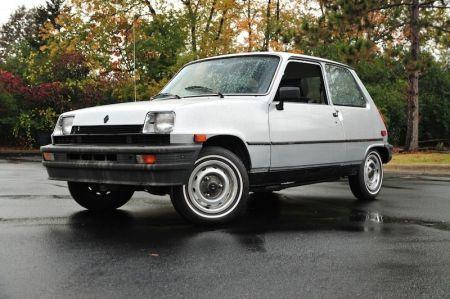 1982 Renault LeCar left front