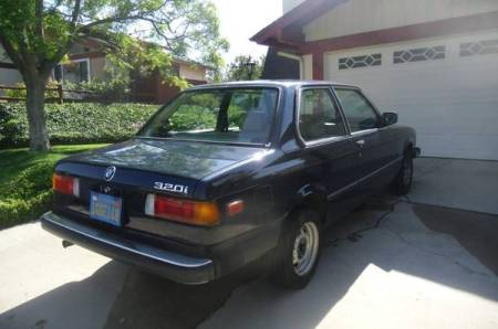 1983 BMW 320i for sale right rear