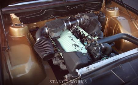 1984 BMW 535i engine