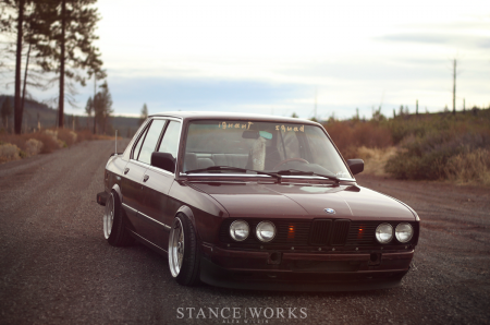 1984 BMW 535i right front 2