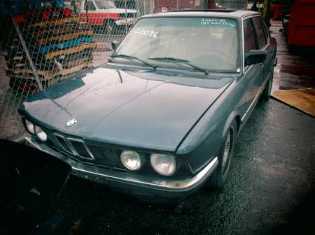 1985 BMW 535i left front