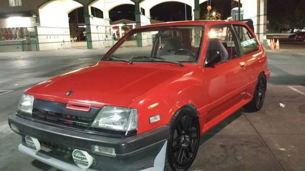 Suzuki Cultus Turbo