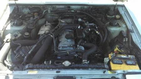1986 Mitsubishi Starion Turbo engine