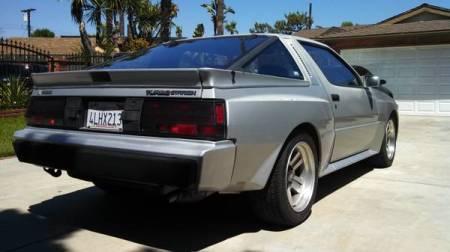 1986 Mitsubishi Starion Turbo right rear