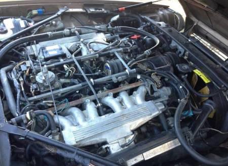 1987 Jaguar XJ-S V12 for sale engine