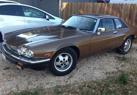 1987 Jaguar XJ-S V12 for sale left front