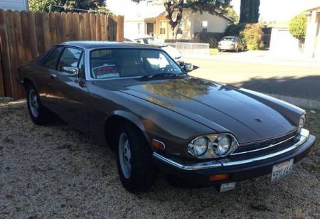 1987 Jaguar XJ-S V12 for sale right front
