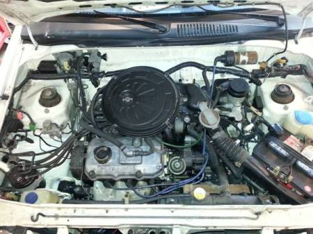 1988 Subaru Justy for sale engine