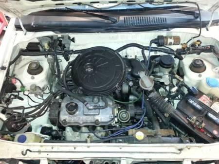 1988 Subaru Justy for sale engine