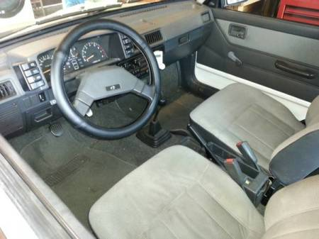 1988 Subaru Justy for sale interior