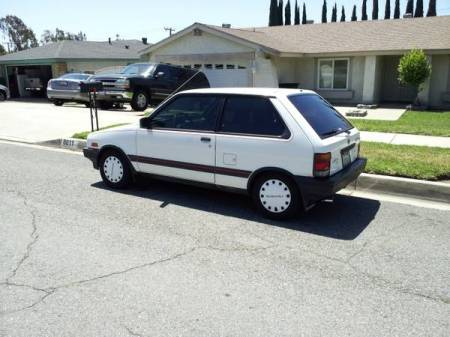 1988 Subaru Justy for sale left rear