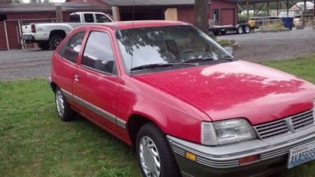 1992 Pontiac LeMans right front
